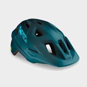 Cykelhjälm MET Echo MIPS Petrol Blue, Small/Medium (52 - 57 cm)