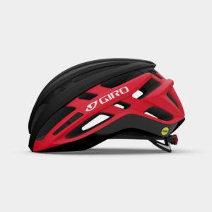 Cykelhjälm Giro Agilis MIPS Matte Black/Bright Red, Large (59 - 63 cm)
