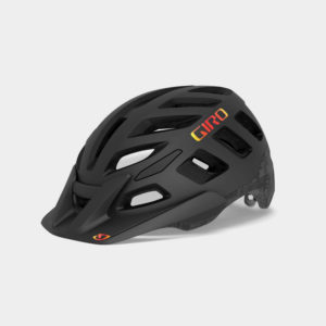 Cykelhjälm Giro Radix MIPS Matte Black Hype, Large (59 - 63 cm)