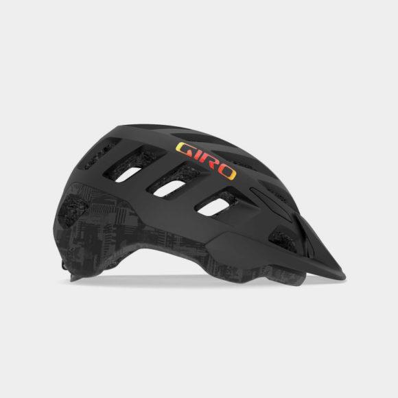 Cykelhjälm Giro Radix MIPS Matte Black Hype, Medium (55.5 - 59 cm)