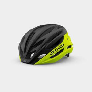 Cykelhjälm Giro Syntax MIPS Highlight Yellow Black, Small (51 - 55 cm)