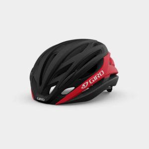 Cykelhjälm Giro Syntax MIPS Matte Black Bright Red, Large (59 - 62.5 cm)