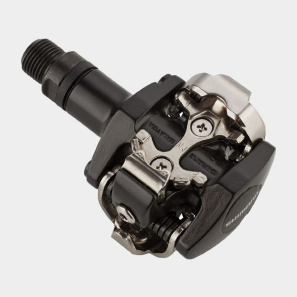 Pedaler Shimano M505L, 1 par, SPD, svart, inkl. klossar