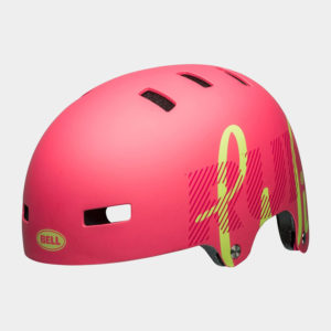 Cykelhjälm Bell Span Matte Flamingo/Pear, X-Small (49 - 53 cm)