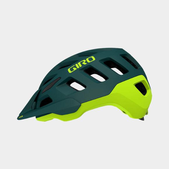 Cykelhjälm Giro Radix MIPS Matte True Spruce/Citron, Large (59 - 63 cm)