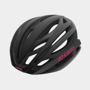 Cykelhjälm Giro Seyen MIPS Matte Black Pink, Medium (55.5 - 59 cm)