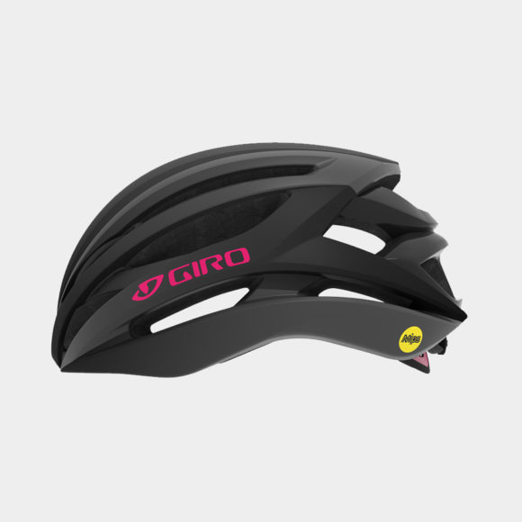 Cykelhjälm Giro Seyen MIPS W Matte Black Pink, Small (51 - 55 cm)