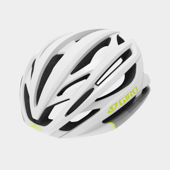 Cykelhjälm Giro Seyen MIPS White Grey Citron, Medium (55.5 - 59 cm)