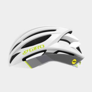 Cykelhjälm Giro Seyen MIPS W White Grey Citron, Small (51 - 55 cm)