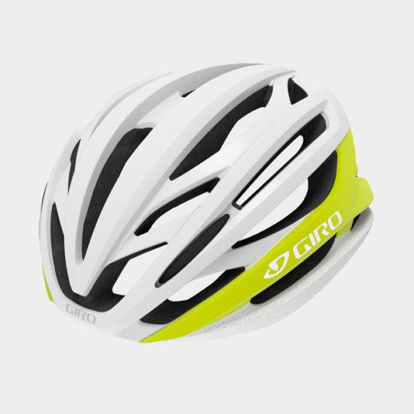 Cykelhjälm Giro Syntax MIPS Matte Citron White, Small (51 - 55 cm)