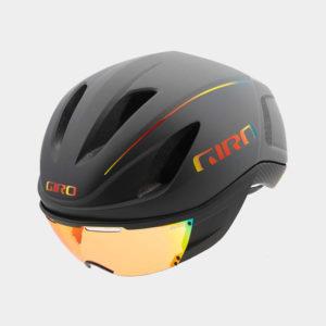 Cykelhjälm Giro Vanquish MIPS Matte Grey Firechrome, Medium (55.5 - 59 cm)