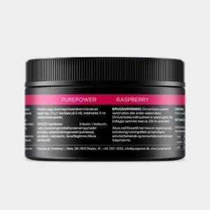 Aminosyra PurePower Amino Acid BCAA Raspberry, 150 gram