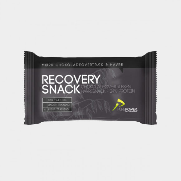 Återhämtningsbar PurePower Recovery Snack Oat, Chocolate Coated, 60 gram