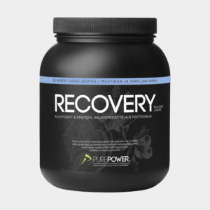 Återhämtningsdryck PurePower Pure Recovery Blueberry/Vanilla, 1,6 kg