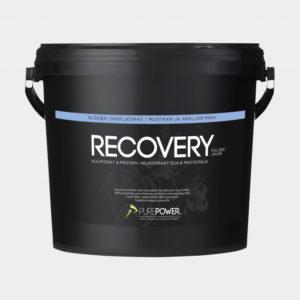 Återhämtningsdryck PurePower Pure Recovery Blueberry/Vanilla, 3 kg