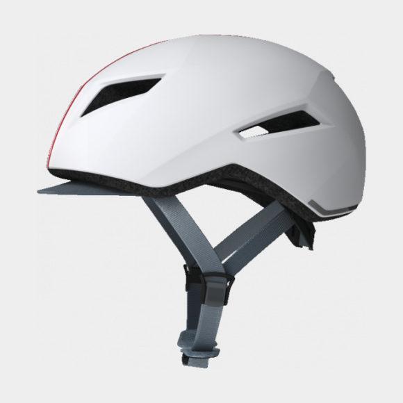 Cykelhjälm ABUS Yadd-I Streak White, Small (51 - 55 cm)