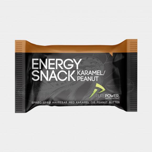 Energibar PurePower Energy Snack Caramel & Peanut, 60 gram