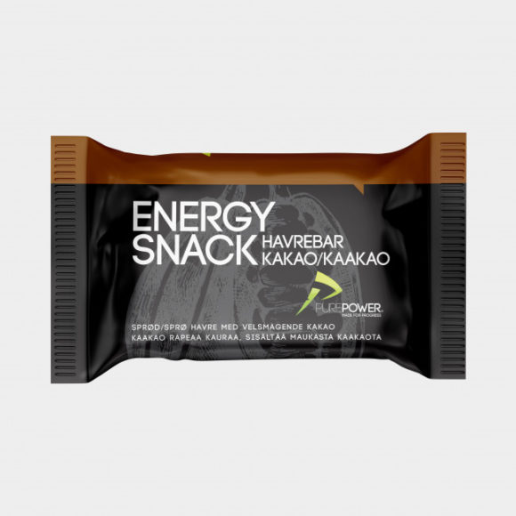 Energibar PurePower Energy Snack Cocoa, 60 gram