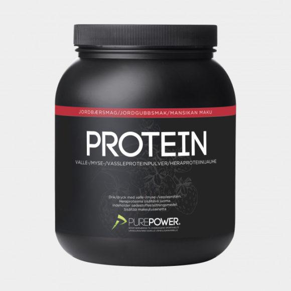 Proteinpulver PurePower Strawberry, 1 kg