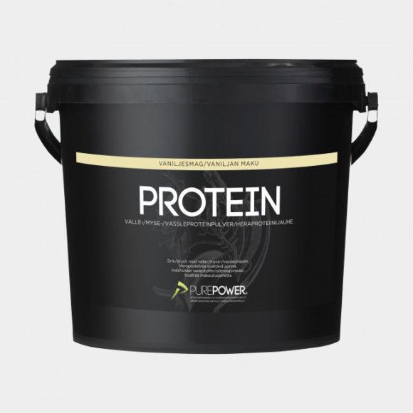 Proteinpulver PurePower Vanilla, 3 kg