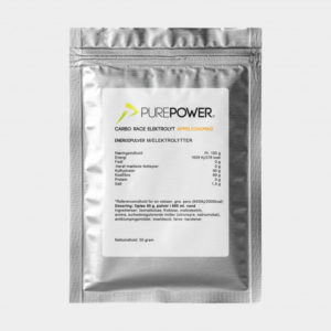 Sportdryck PurePower Carbo Race Electrolyte Orange, 50 gram