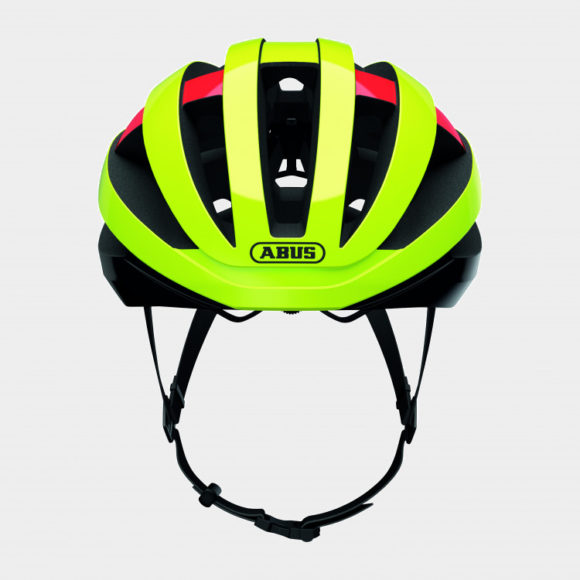 Cykelhjälm ABUS Viantor MIPS Neon Yellow, Large (58 - 62 cm)