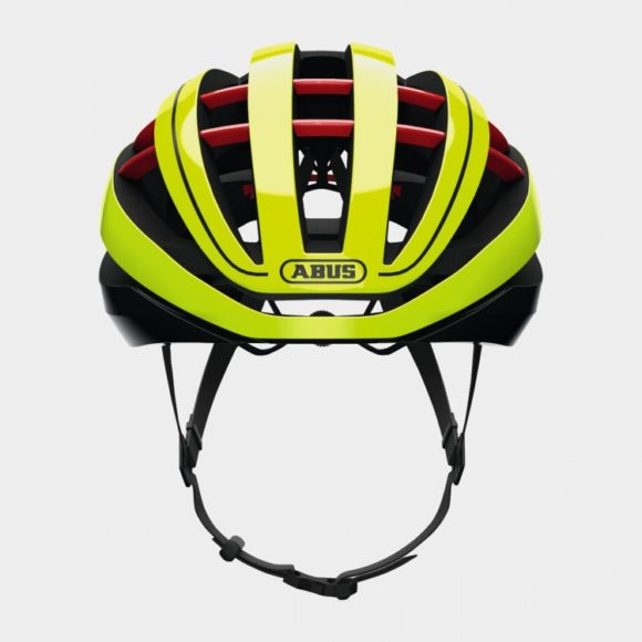 Cykelhjälm ABUS Aventor MIPS Neon Yellow, Medium (54 - 58 cm)