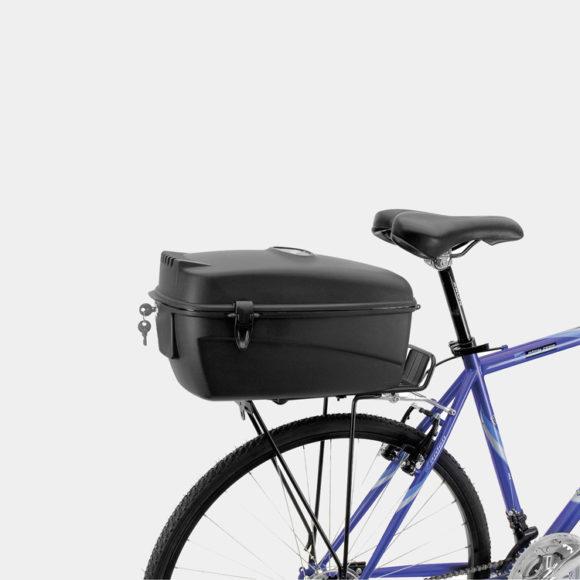Packbox M-Wave Amsterdam Box, för pakethållare, låsbar, 17 liter
