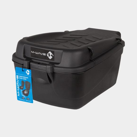 Packbox M-Wave Amsterdam Easy Box, för pakethållare, 18 liter