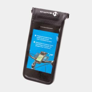 Mobilväska M-Wave Black Bay, inkl. styrfäste