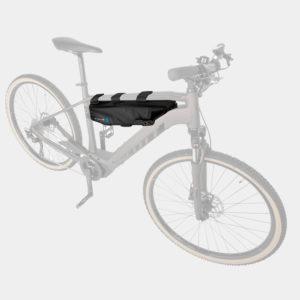 Transportväska för elcykelbatterier M-Wave Rough Ride B, för rammonterade Shimano- och Bosch-batterier