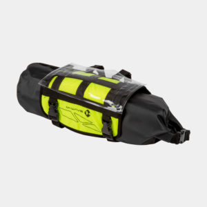 Styrväska M-Wave Rough Ride Front, 11 liter, neongul