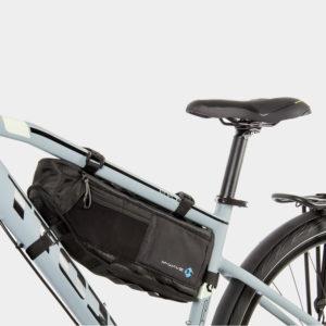Ramväska för cykel som fästs i ramtriangeln