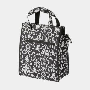 Pakethållarväska M-Wave Amsterdam Style Flower, 12 liter
