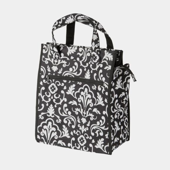 Pakethållarväska M-Wave Amsterdam Style Flower, 10 liter