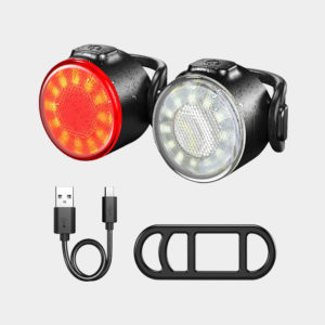 Lampset Machfally Safetylight White/Red