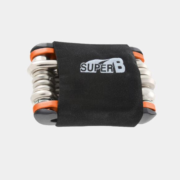 Multiverktyg Super B TB-FD 40, 17 delar