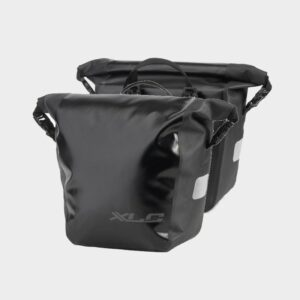 Pakethållarväskor XLC BA-W33, 2 x 10 liter