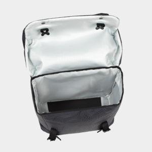 Pakethållarväskor XLC BA-S88, grå, 2x18 liter