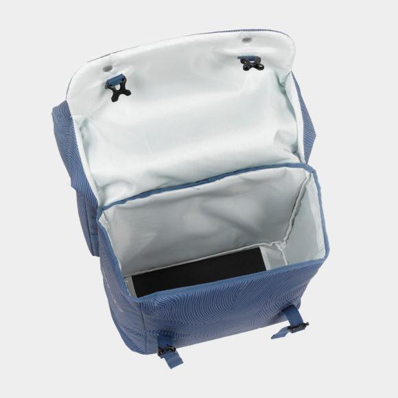 Pakethållarväskor XLC BA-S88, blå, 2x18 liter