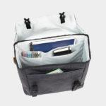 Pakethållarväska XLC BA-S87, Anthracite, 16 liter