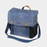 Pakethållarväska XLC BA-S87, Blue Fingerprint, 16 liter