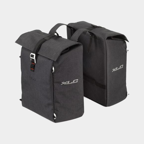 Pakethållarväskor XLC BA-S92, 2 x 18 liter