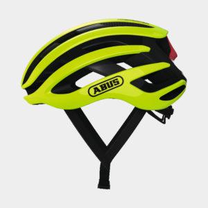 Cykelhjälm ABUS AirBreaker Neon Yellow, Medium (52 - 58 cm)