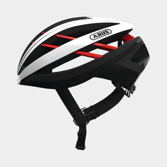 Cykelhjälm ABUS Aventor Blaze Red, Medium (54 - 58 cm)