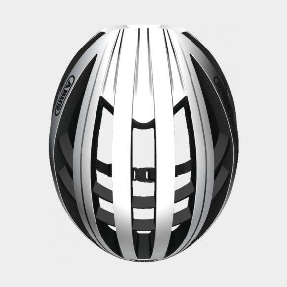 Cykelhjälm ABUS Aventor Gleam Silver, Large (57 - 61 cm)
