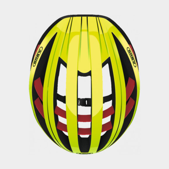 Cykelhjälm ABUS Aventor Neon Yellow, Small (51 - 55 cm)