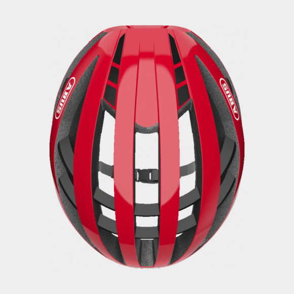 Cykelhjälm ABUS Aventor Racing Red, Small (51 - 55 cm)