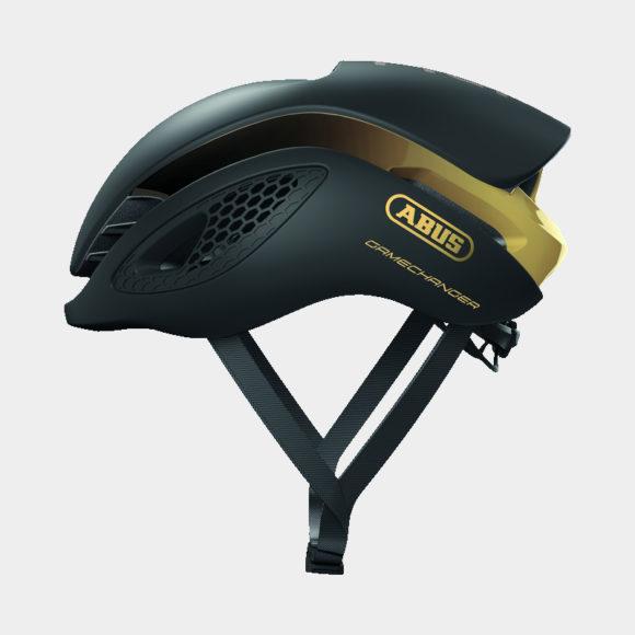 Cykelhjälm ABUS GameChanger Black Gold, Medium (52 - 58 cm)
