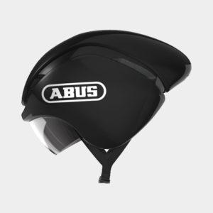 Cykelhjälm ABUS GameChanger TT Shiny Black, Medium (54 - 58 cm)